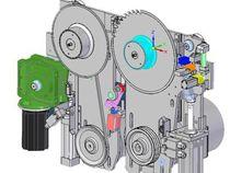 Пильная каретка автоматического пильного центра с одной линией реза Gabbiani PT