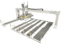 Обеспечение быстрых процессов погрузки и разгрузки в угловом пильном центре Gabbiani A3