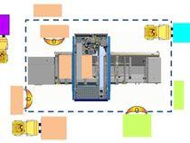 Решение ProSpace для криволинейного центра с ЧПУ для криволинейной кромкооблицовки Morbidelli P200