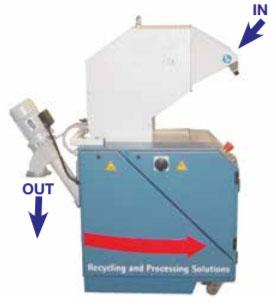 Гранулятор для ПВХ пресса PM Air System ECO, производство ORMA Macchine Италия