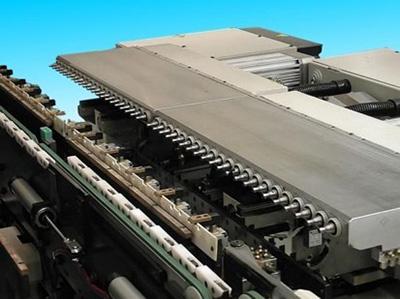 Горизонтальные боковые сверлильные головки гибкого сверлильного центра c ЧПУ Author 924, производство SCM Италия