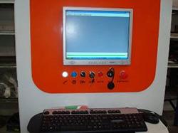 Интерфейс оператора на ПК ленточнопильного станка Atlantis, производитель Bacci Италия