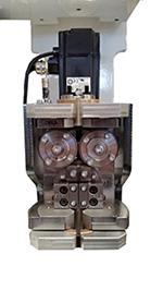 Поворотный узел для ленточнопильного центра с ЧПУ DUPLEX, производство Bacci Италия