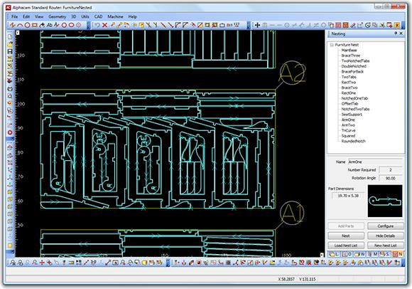 Система программирования ленточнопильного станка DUPLEX CNC, производитель Bacci Италия