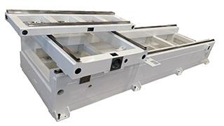 Рабочий стол ленточнопильного центра DUPLEX CNC от Bacci (Италия)