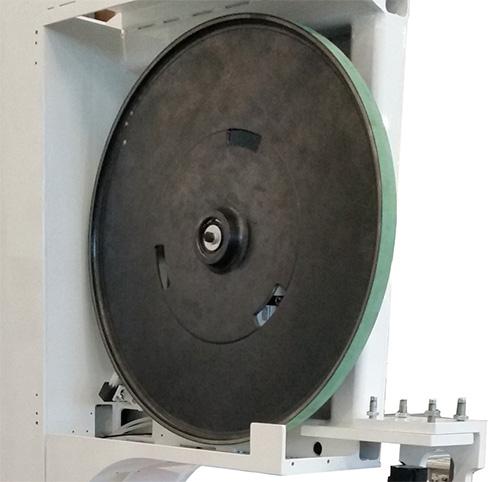 Шкив пильного станка с MASTER.CUT, производство Bacci Италия