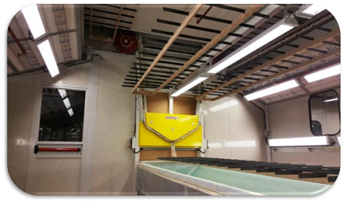 Рабочая станция №2 – окраска/снятие патины Биланчелли - карусельная установка ручной окраски, сушки и шлифовки для нестандартных деталей и малых партий