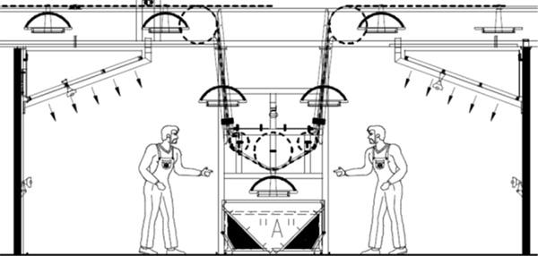 Рабочая станция №2 системы окраски Bilancelli – окраска/снятие патины
