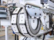 Подача заготовок для проходного пильного центра SCM Celaschi SPL30 (Италия)