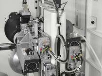 Обработка прямой кромки и постформинг кромкооблицовочного одностороннего станка SCM Stefani S (Италия)