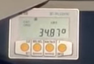 Цифровой дисплей станка Techna 3001 Plus, производство Balestrieri Италия