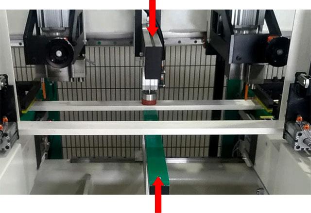 Центральный верхний пневматический прижим станка BL-2, производство Fiorenza (Италия)