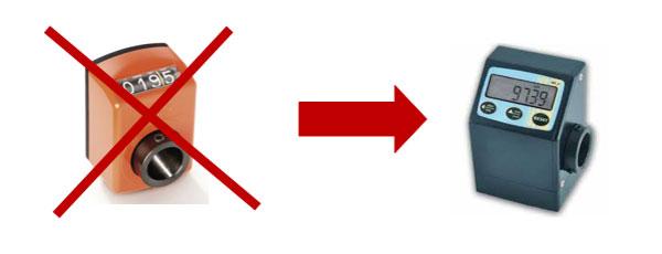 Цифровые индикаторы регулировок позиционирования станка BL-2, производство Fiorenza (Италия)