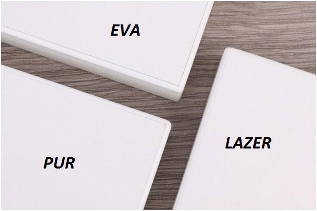 Лазерная кромка для кромкооблицовочных станков в мебельном производстве