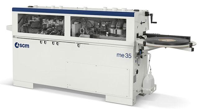 Кромкооблицовочный станок легкой группы SCM Minimax ME 35, производство Италия