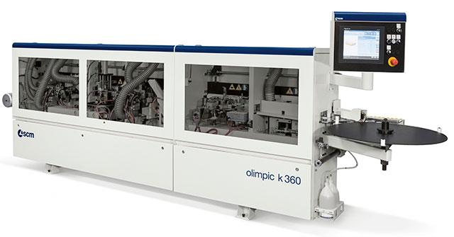 Кромкооблицовочный станок средней группы SCM Olimpic K 360, производство Италия