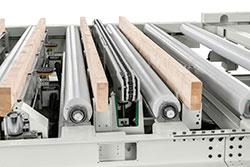Интеграция в производственные линии обрабатывающего центра с ЧПУ AREA XL, производство SCM (Италия)