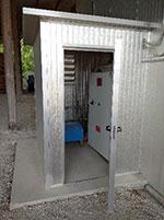 Комната управления сушильной камеры ICD, производство Incomac (Италия)