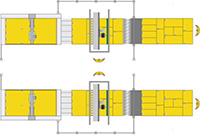 Модулируемость обрабатывающего центра с ЧПУ для нестинга Morbidelli X400, производство SCM (Италия)