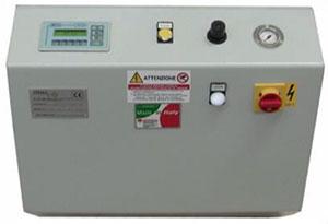 Органы управления установки впрыска клея и вставки шкантов GLF, производитель Stema (Италия)