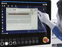 Программное обеспечение Maestro beam&wall обрабатывающего центра с ЧПУ для домостроения Oikos XL, производство SCM (Италия)