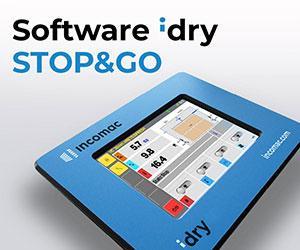 Программное обеспечение STOP&GO сушильной камеры ICD, производство Incomac (Италия)