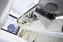 Сверлильный агрегат обрабатывающего центра с ЧПУ для нестинга Morbidelli X400, производство SCM (Италия)