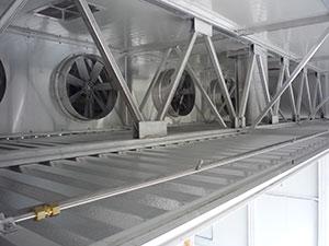 Вентиляторная балка сушильной камеры ICD, производство Incomac (Италия)