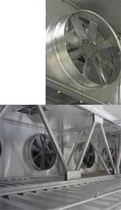 Вентиляторы сушильной камеры ICD, производство Incomac (Италия)