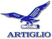 Логотип компании Artiglio, поставка запчастей для станков от Текноком