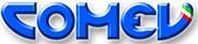 Логотип компании COMEV, поставка запчастей для оборудования и станков от Текноком