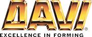 Логотип компании DAVI, поставка запчастей для оборудования и станков от Текноком