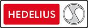 Логотип компании Hedelius, поставка запчастей для оборудования и станков от Текноком