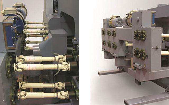 Карданные передачи 2-стороннего рейсмуса серии Universal, производство Bottene (Италия)