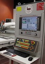 Компьютеризированная стегальная машина для работы на пяльцах H220 PTL FURBA, производство Resta (Италия)