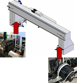 Конструкция центра с ЧПУ для сверления крышек гробов модель «FOCE», производство Fiorenza (Италия)