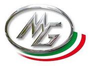 Логотип компании MG s.r.l., поставка запчастей для оборудования и станков от Текноком