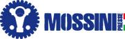 Логотип компании Mossini, поставка запчастей для оборудования и станков от Текноком