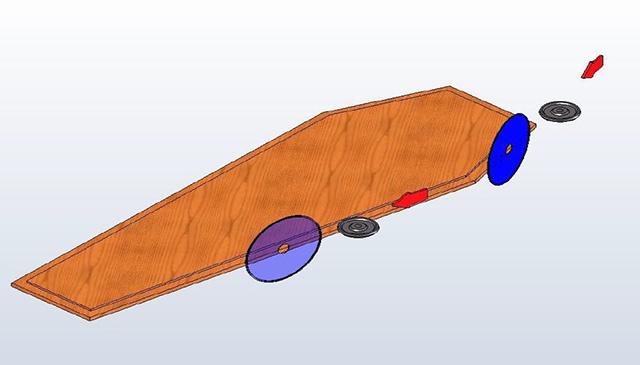 Схема станка для обработки крышек и днищ гробов, модель MAC1, производитель Fiorenza Италия