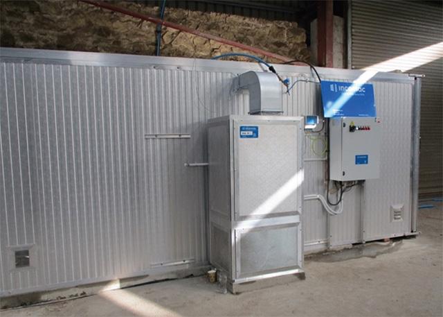Тепловой насос сушильной камеры с системой теплового насоса MAC, производство Incomac (Италия)